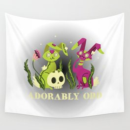 Adorably Odd Wall Tapestry