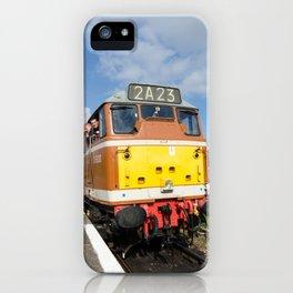 Diesel loco 5830 portrait iPhone Case