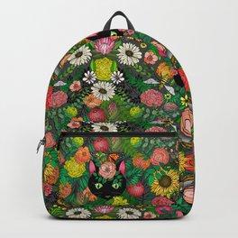 Garden Surprise, Kitty Cat Eyes Backpack