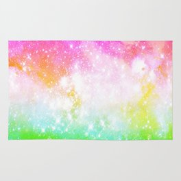 Fun and Bright Space Rug