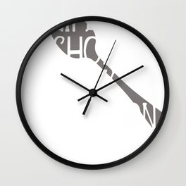 Life is Short Lick the Spoon Raw Cookie Dough Lick the Batter Wall Clock