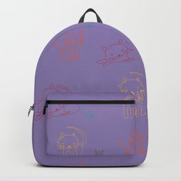 Cat and Mouse Sing the Blues Backpack