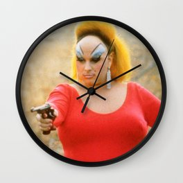 Convicted Wall Clock
