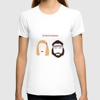 tenenbaums T-shirts featuring The Royal Tenenbaums, Margot, & Richie by bonieiji