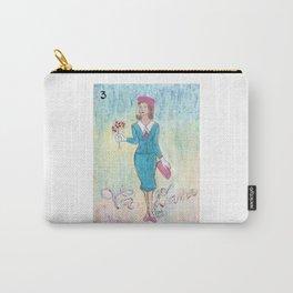 La Dama Riendo Carry-All Pouch