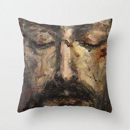 Holy Face Throw Pillow
