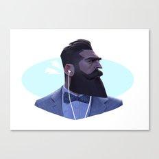 Manly Man Canvas Print