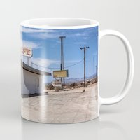 cafe Mugs featuring cafe by petervirth photography