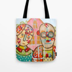 The American Gothic Tote Bag