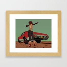 Hick Chic Framed Art Print