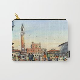 Piazza del Campo, Siena Carry-All Pouch