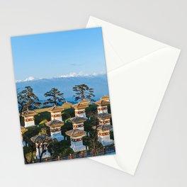 Bhutan: Sunset on Dochula Pass Stationery Cards