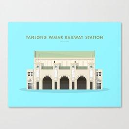Tanjong Pagar Railway Station, Singapore [Building Singapore] Canvas Print