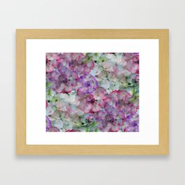 Mesmerizing Floral Abstract Framed Art Print