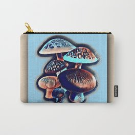 Uproar Blue Shrooms Carry-All Pouch