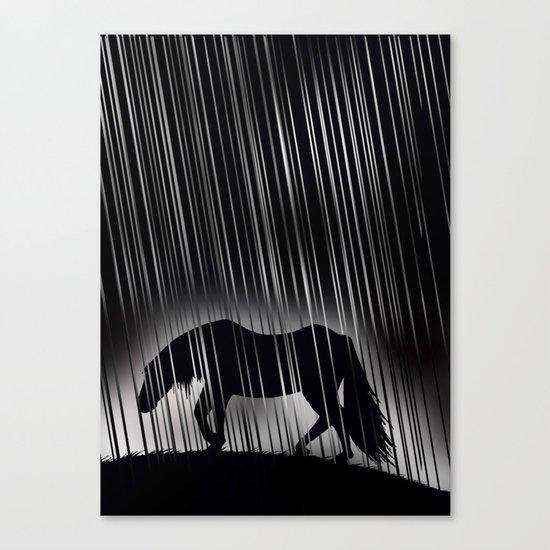 Melancholy Canvas Print