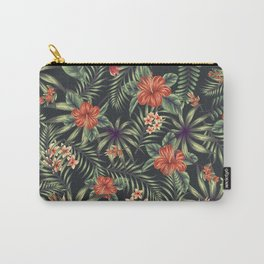 Tropical leave pattern 10 Carry-All Pouch