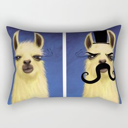 Evil Twin Rectangular Pillow