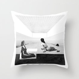 Entrench Throw Pillow