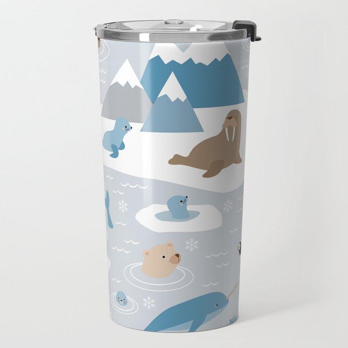 Arctic animals Travel Mug