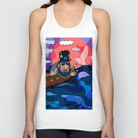 house md Tank Tops featuring Ahab, MD by Birdcap