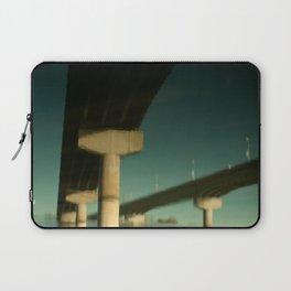 bridge reflection Laptop Sleeve