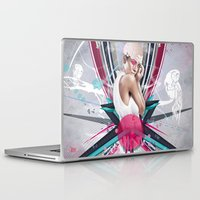 lucy Laptop & iPad Skins featuring LUCY by Stéphanie Brusick / Art by shop