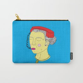 Anxious Lady Carry-All Pouch