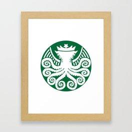 Starspawn Coffee War on Christmas '16 Framed Art Print