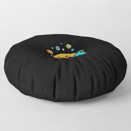 Out world Floor Pillow