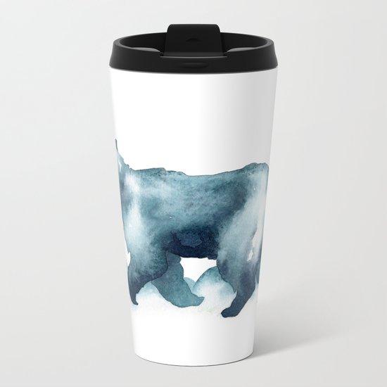 Arctic Spirit Metal Travel Mug