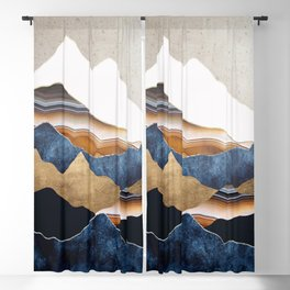 Amber Sun Blackout Curtain