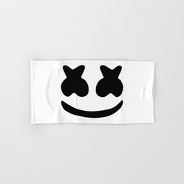 Marshmello design 2 Hand & Bath Towel