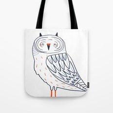 Snow Owl. Tote Bag