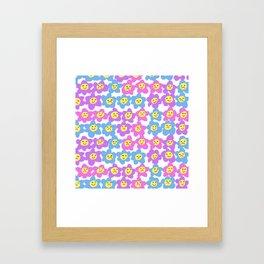 Flower Feelings Framed Art Print