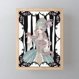 Madame Boa Framed Mini Art Print