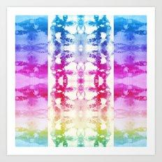 Tie Dye Rainbow Art Print