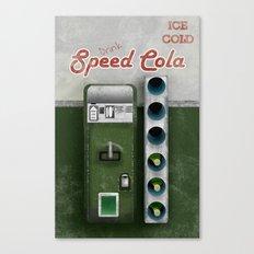 Speed Cola Canvas Print