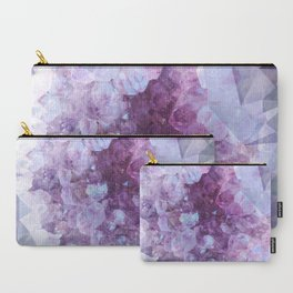 Crystal Gemstone Carry-All Pouch