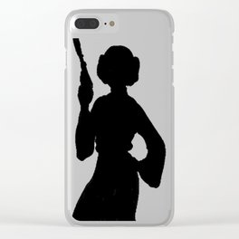 Leia - May The Force Be With You Clear iPhone Case