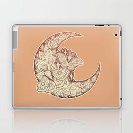 Moth & Moon   Autumn Terra Cotta Palette   Nature Art Laptop & iPad Skin