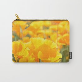 Yellow Poppies Carry-All Pouch