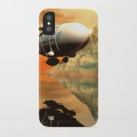 led zeppelin iPhone & iPod Cases featuring Zeppelin by nicky2342