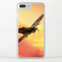 Spitfire Clear iPhone Case