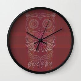 O&P: Nature's Owl Wall Clock