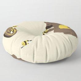 Bee game Floor Pillow
