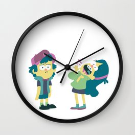 Dipper and Mabel Wall Clock