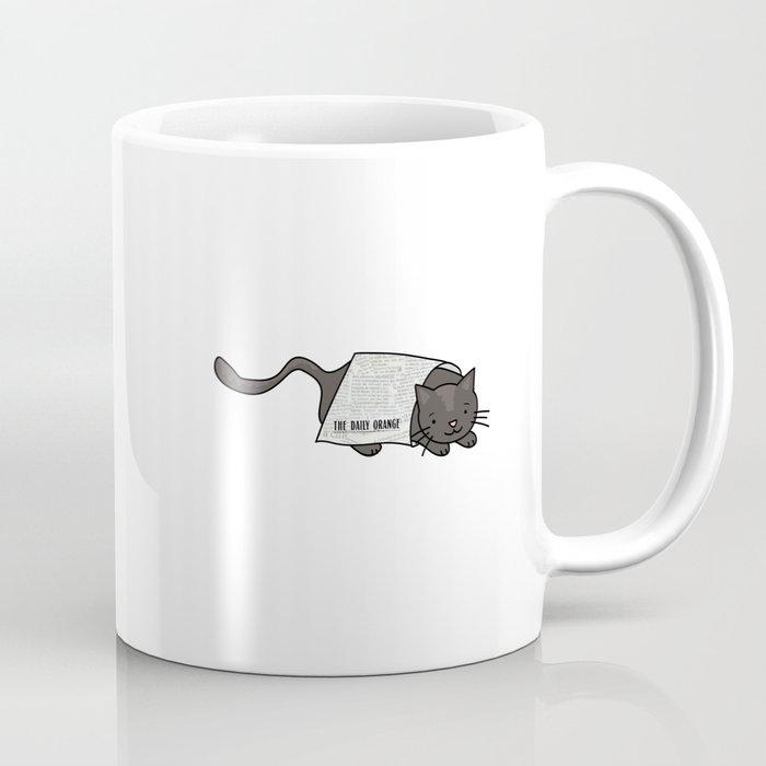 Daily News By Cat Coffee Thedailyorange Mug Orange lTcFK1J