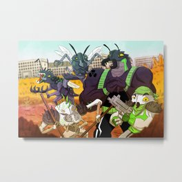 BAD ROACHES Metal Print