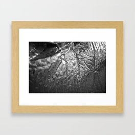 Silver Pattern 1 Framed Art Print